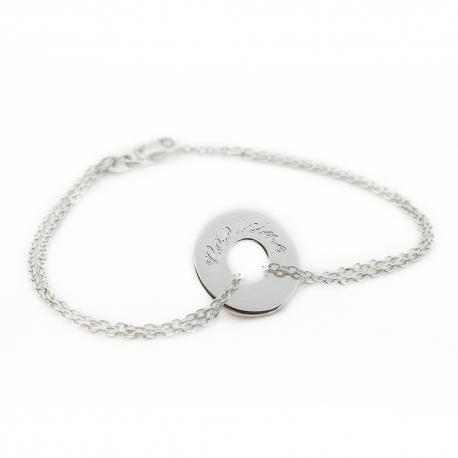 Bracelet Poème- argent