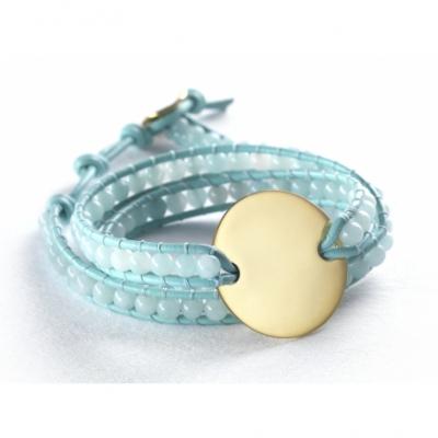 Bracelet Indian Amazonite - Large