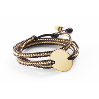 Bracelet Indian Marron - Small