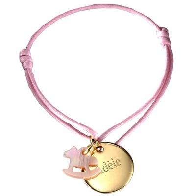 Bracelet Kids Cheval- plaqué or
