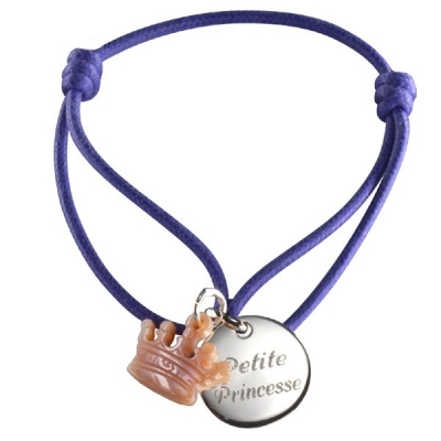 Bracelet Kids Couronne- argent