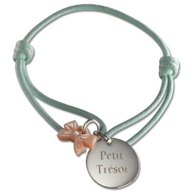 Bracelet Kids Ruban- argent