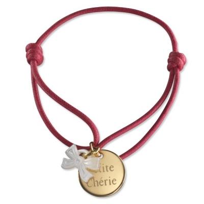 Bracelet Kids Ruban- plaqué or