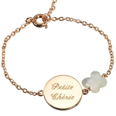Bracelet Lovely Papillon Star - plaqué or