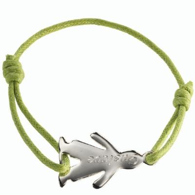 Bracelet mini bambin Garçon personnalisable- argent