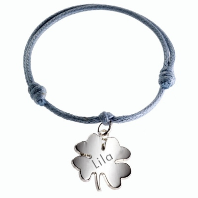 Bracelet Trèfle Lucky- argent