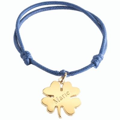 Bracelet Trèfle Lucky- plaqué or
