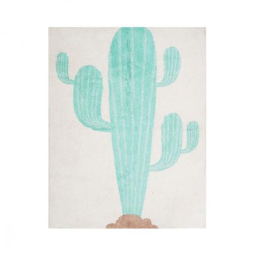 Tapis enfant coton cactus