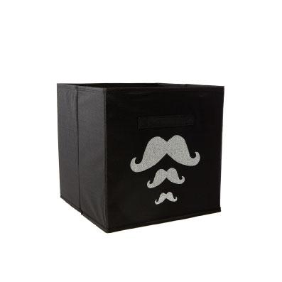 Casier de rangement trois moustaches personnalisable