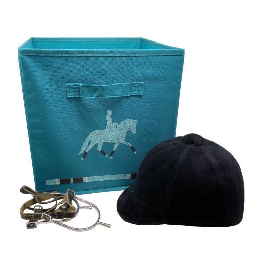 Casier de rangement cheval à l'obstacle personnalisable