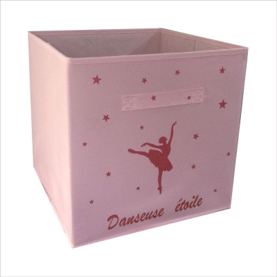 Casier de rangement danseuse étoile personnalisable