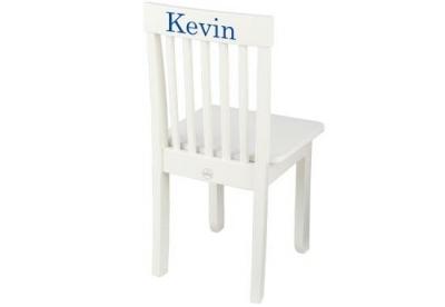Chaise enfant blanche personnalisable