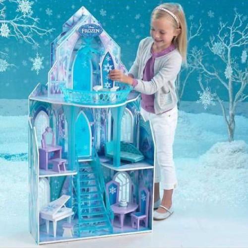 Maison De Poupées Ice Castle Disney® La Reine Des Neiges