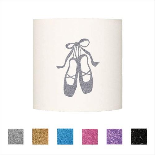 Applique chaussons de danseuse pailleté  personnalisable