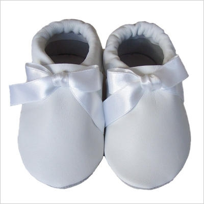 Chaussons Noeud Blanc