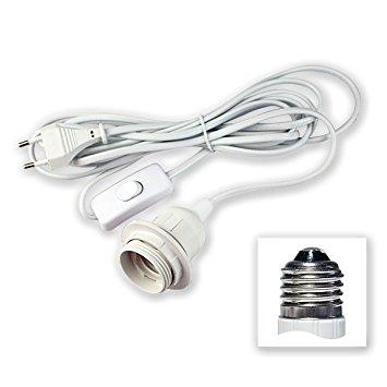 Cordon électrique blanc