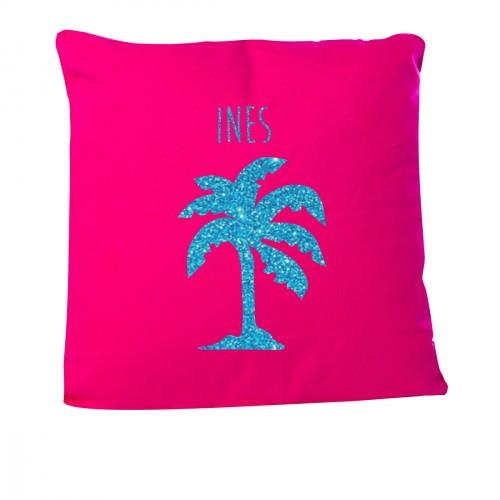 Coussin palmier personnalisable