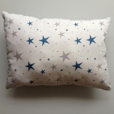 Coussin étoiles magiques bleu marine