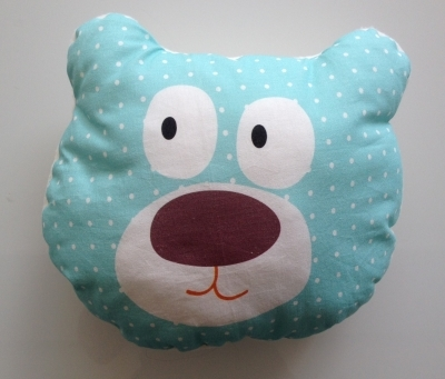 Coussin Tête d'ours Chouchou