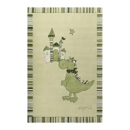 Tapis bébé Dragon & Castle vert