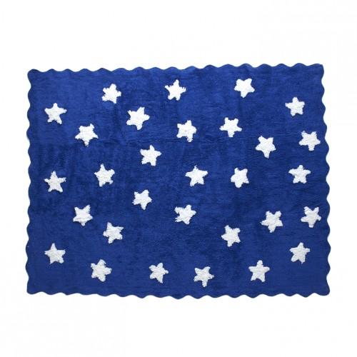 Tapis Etoiles Bleu marine