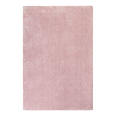 Tapis uni design Relaxx rose pâle