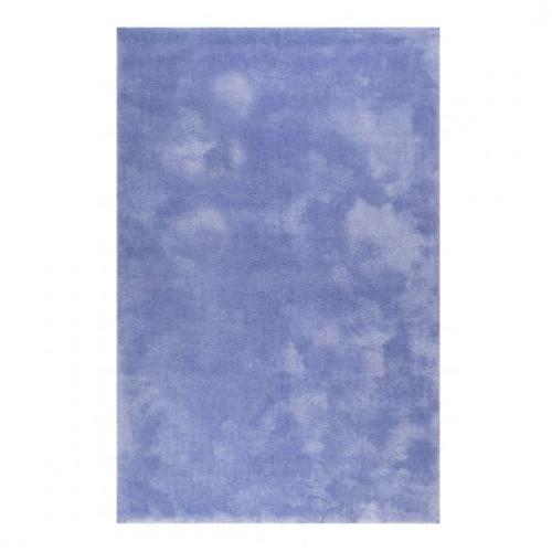 Tapis uni design Relaxx bleu lilas