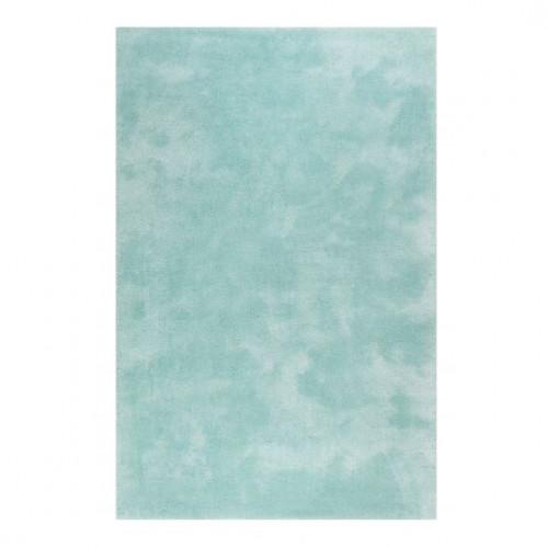 Tapis uni design Relaxx turquoise