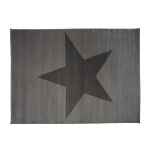 Aratextil hogar tapis toile gris - Tapis etoile gris ...