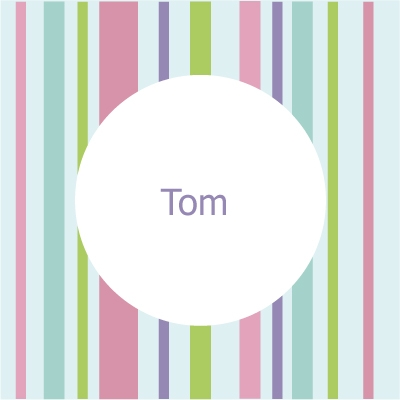 Faire part de naissance bayadère Tom