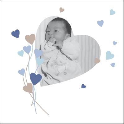 Faire part de naissance photo Anthony