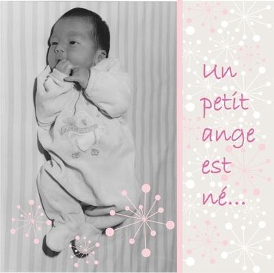 Faire part de naissance photo Chloé