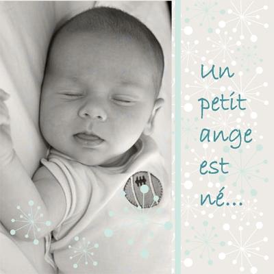 Faire part de naissance photo Louis