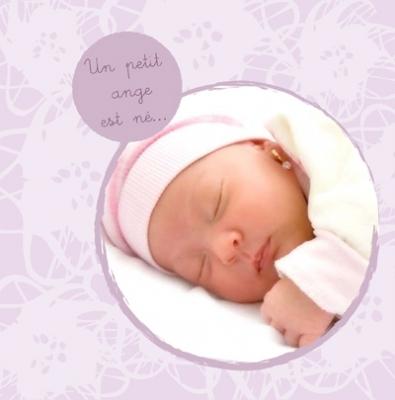 Faire part de naissance photo Paula