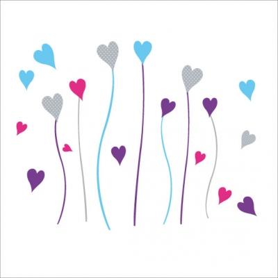 Fleurs coeurs