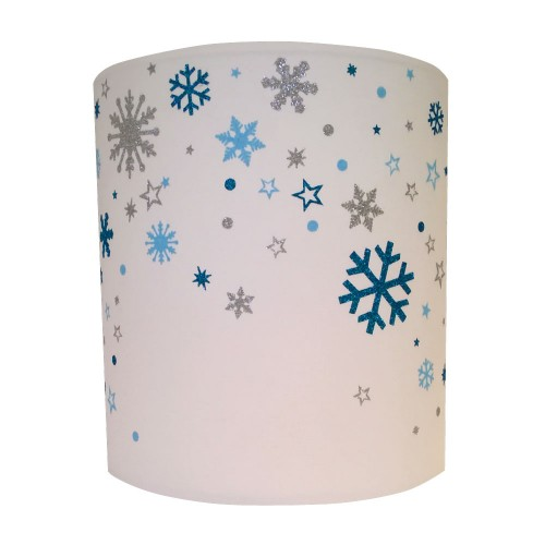 Applique flocons de neige personnalisable