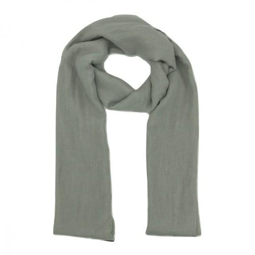 Foulard gris pailleté