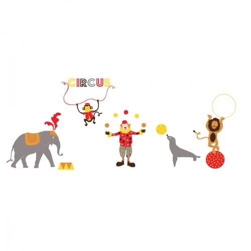 Frise animaux du cirque