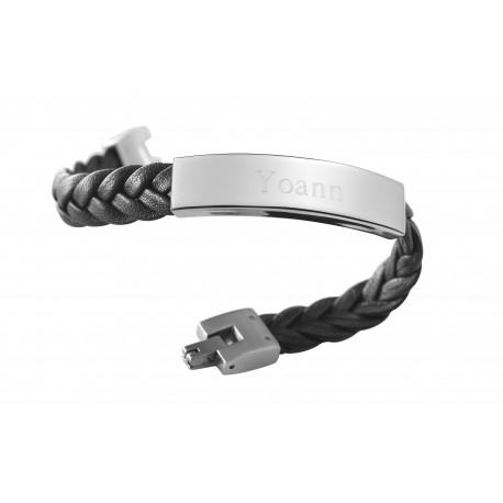 Bracelet Le Gentleman - Acier