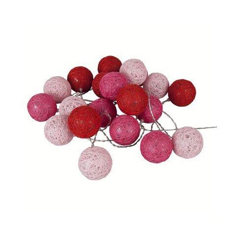 Guirlande Bubble harmonie rose