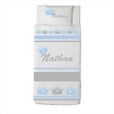 Housse de couette couronne Nathan