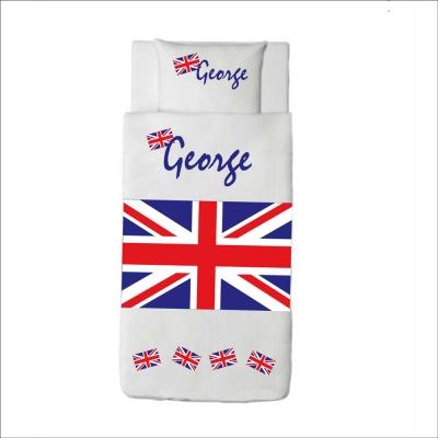 Housse de couette drapeau anglais George