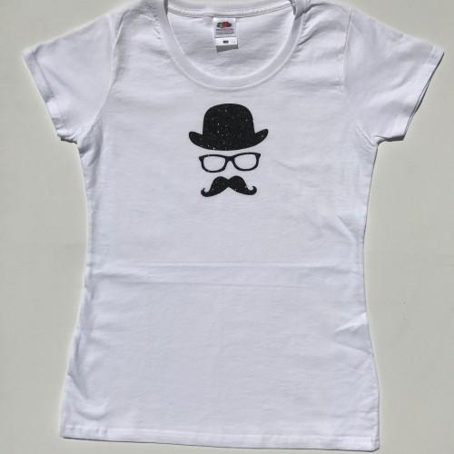 Tee-shirt homme au chapeau personnalisable
