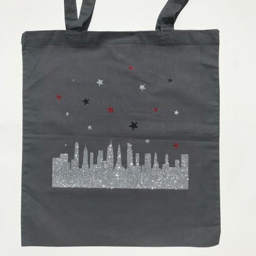 Tote bag New York buildings