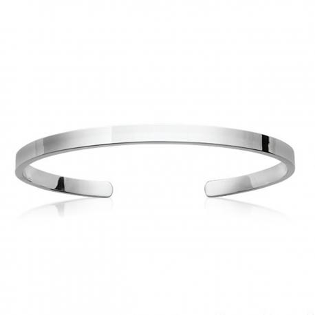 Bracelet Jonc - Solo argent