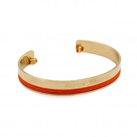 Bracelet Jonc Philharmonie - plaqué or