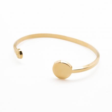 Bracelet Jonc - Petits Trésors- Plaqué or