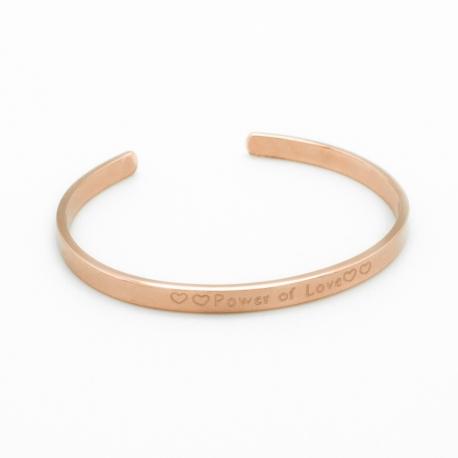 Bracelet Jonc - Solo plaqué or rose