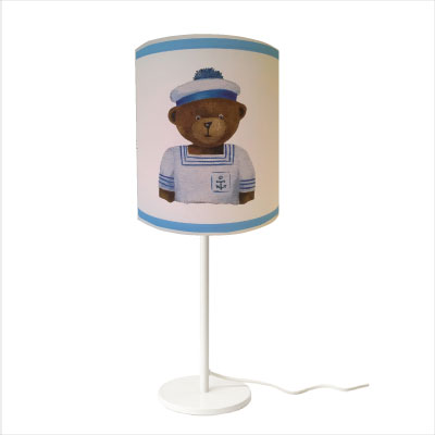 Lampe à poser ours marin christophe personnalisable