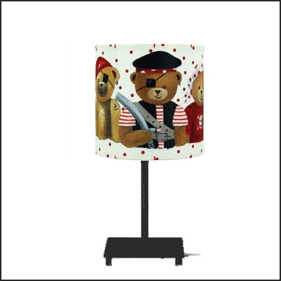 Lampe à poser ours pirates